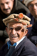 Man in mountain village of Altit in Hunza region of Karokoram Mountains, Pakistan