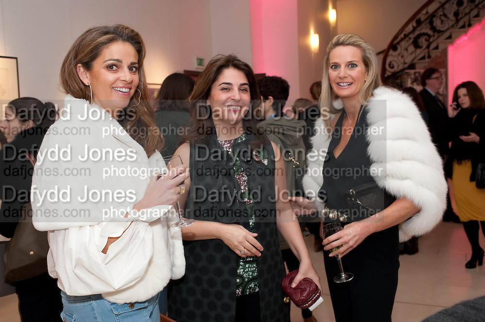 JORI GRASSI' MARYAM EISLER; SIOBHAN LOUGHRAN, SANCTUARY: BRITAIN'S ARTISTS AND THEIR STUDIOS -Book launch, Christie's King Street, St James 13 March 2012.