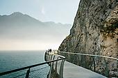 Cycle path Grada Lake - Pista ciclabile lago di Garda