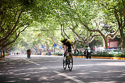 Sarah Roy (AUS) attacks at Tour of Chongming Island 2018 - Stage 3, a 126.5 km road race on Chongming Island on April 28, 2018. Photo by Sean Robinson/Velofocus.com