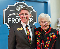 Lutheran Education on the Frontier exhibit opening at the Nordic Heritage Museum in Seattle on Saturday, Sept. 26, 2015. (Photo: John Froschauer/PLU)