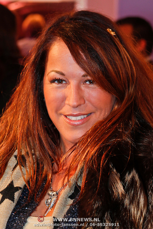 NLD/Amsterdam/20110128 - AIFW winter 2011, show Addy van den Krommenacker, Tessa Koops