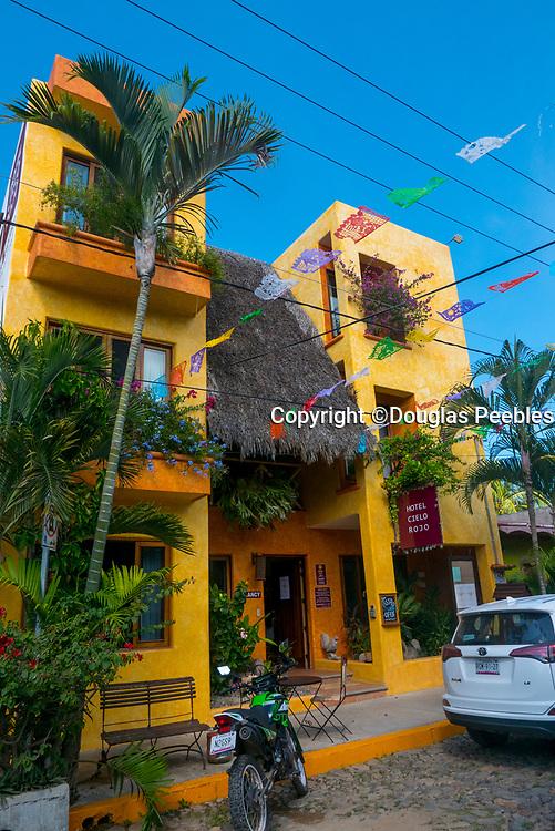 Hotel Ceilo Rojo, San Pancho, San Francisco, Riviera Nayarit, Nayarit, Mexico
