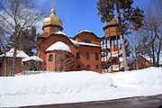 This is Holy Transfiguration Skete, a Roman Catholic Monastery in a very remote Keweenaw location, at Jacob's Falls on the Lake Superior shoreline.