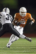 Westwood's Prince Ugwu runs against Cedar Ridge Friday at Dragon Stadium.