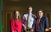 Junior Academic Achievement Award 3rd Runner Up: Nathan Pound,  Fritz J. and Dolores H. Russ College of Engineering and Technology Student Awards Banquet April 10, 2016. (Photo by Emily Matthews)