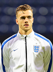 Calum Chambers of England U21 - Mandatory byline: Matt McNulty/JMP - 07966386802 - 03/09/2015 - FOOTBALL - Deepdale Stadium -Preston,England - England U21 v USA U23 - U21 International