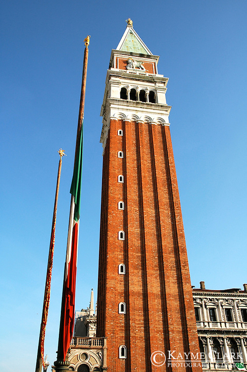 Bell Tower - St. Mark's Square (Piazza San Marco), Venice, Veneto, Italy, Europe