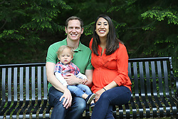 Sara, Nate and Patrick Clark spring portrait session, Sunday, May 10, 2015 at Anchorage Park  in Anchorage Park.