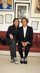 MARY McCARTNEY and SIR PAUL McCARTNEY at the Off The Wall photographic exhibition and auction at The Avenue, St.James's Street, London on 20th September 2007.<br /><br />NON EXCLUSIVE - WORLD RIGHTS