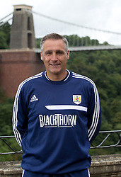 Bristol City assistant manager John Pemberton - Photo mandatory by-line: Kieran McManus/JMP - Tel: Mobile: 07966 386802 31/07/2013 - SPORT - FOOTBALL - Avon Gorge Hotel - Clifton Suspension bridge - Bristol -  Team Photo