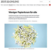 publication of an Oote Boe image in the German newspaper Zeit Online