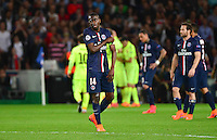 Deception Blaise MATUIDI - 15.04.2015 - Paris Saint Germain / Barcelone - 1/4Finale Aller Champions League<br />