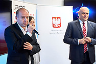 Warsaw, Poland - 2018 June 25: Meeting Special Olympics Family with Witold Banka - Ministry of Sport at PGE Narodowy Stadium on June 25, 2018 in Warsaw, Poland.<br /> <br /> Adam Nurkiewicz declares that he has no rights to the image of people at the photographs of his authorship.<br /> <br /> Picture also available in RAW (NEF) or TIFF format on special request.<br /> <br /> Any editorial, commercial or promotional use requires written permission from the author of image.<br /> <br /> Image can be used in the press when the method of use and the signature does not hurt people on the picture.<br /> <br /> Mandatory credit:<br /> Photo by © Adam Nurkiewicz / Mediasport