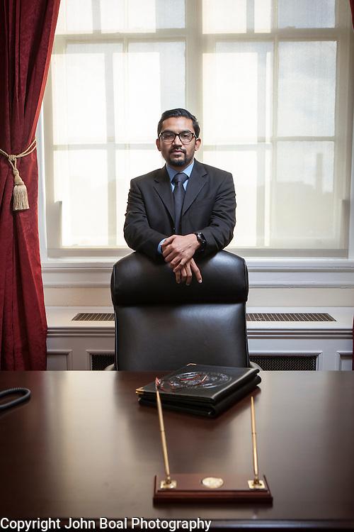 Communications Director for Representative Pramila Jayapal, on Tuesday, January 31, 2017.  John Boal photo/for The Stranger
