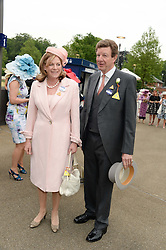 The EARL & COUNTESS PEEL at Day 1 of the 2013 Royal Ascot Racing Festival at Ascot Racecourse, Ascot, Berkshire on 18th June 2013.