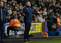 Football - 2018 / 2019 Emirates FA Cup - Fourth Round: Millwall vs. Everton<br /> <br /> Neil Harris Millwall manager at The Den.<br /> <br /> COLORSPORT/DANIEL BEARHAM