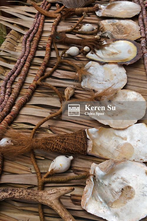 Yar, seashell money, Yap Island, Federated States of Micronesia