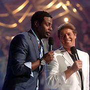 NLD/Baarn/20070221 - Live uitzending RTL Dancing on Ice, John Williams en Martijn Krabbe