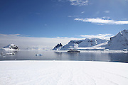 Danco Island or Isla Dedo is an island off Antarctica, 1 nautical mile (2 km) long lying in the southern part of Errera Channel,