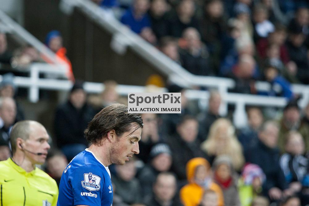 Leighton Baines in the Newcastle v Everton 26 December 2015<br /><br />(c) Russell G Sneddon / SportPix.org.uk