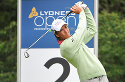 05.06.2014, Country Club Diamond, Atzenbrugg, AUT, Lyoness Golf Open, im Bild Alex Haindl (RSA) // Alex Haindl (RSA) in action during the Austrian Lyoness Golf Open at the Country Club Diamond, Atzenbrugg, Austria on 2014/06/05. EXPA Pictures © 2014, PhotoCredit: EXPA/ Sascha Trimmel