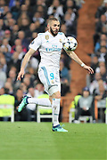 Karim Benzema (Real Madrid) during the UEFA Champions League, semi final, 2nd leg football match between Real Madrid and Bayern Munich on May 1, 2018 at Santiago Bernabeu stadium in Madrid, Spain - Photo Laurent Lairys / ProSportsImages / DPPI