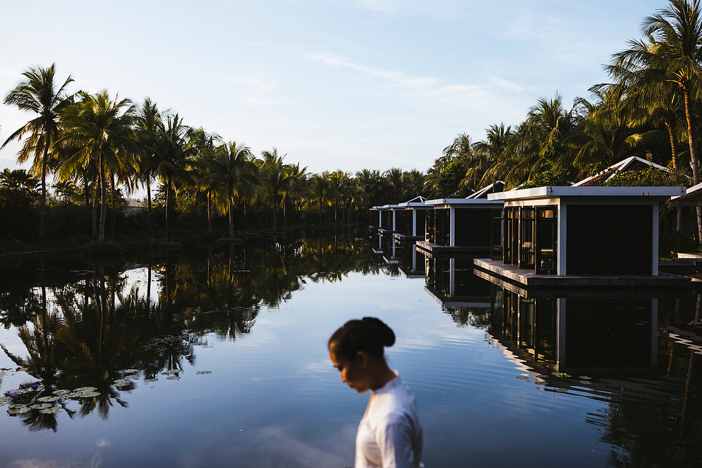 The spa at the Four Seasons Nam Hai resort in Hoi An, Vietnam.