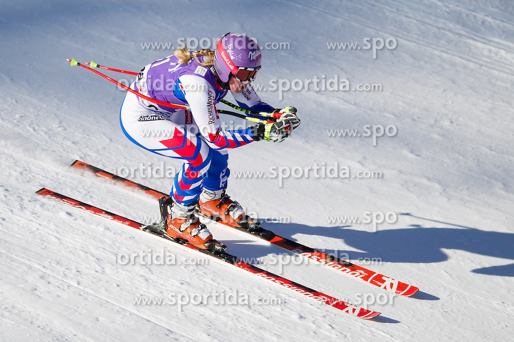 18.01.2013, Olympia delle Tofane, Cortina d Ampezzo, ITA, FIS Weltcup Ski Alpin, Abfahrt, Damen, 1. Training, im Bild Tessa Worley (FRA) // Tessa Worley of France in action during 1st practice of the ladies Downhill of the FIS Ski Alpine World Cup at the Olympia delle Tofane course, Cortina d Ampezzo, Italy on 2013/01/18. EXPA Pictures © 2013, PhotoCredit: EXPA/ Johann Groder
