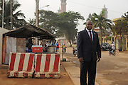 COTONOU, BENIN-  13-01-17   - Mr. Samuel Batcho, National Coordinator for UCF/MCA Benin photographed in Cotonou, Benin on January 17.  Photo by Daniel Hayduk