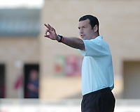 Photo. Leigh Quinnell.  Northampton Town v Southend United Coca Cola league two play off semi final, first round. 15/05/2005. Northampton boss Colin Calderwood instructs his team.