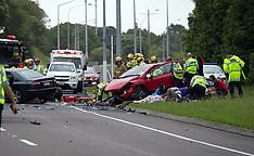Tauranga-Serious head on crash,  SH29 Maungatapu