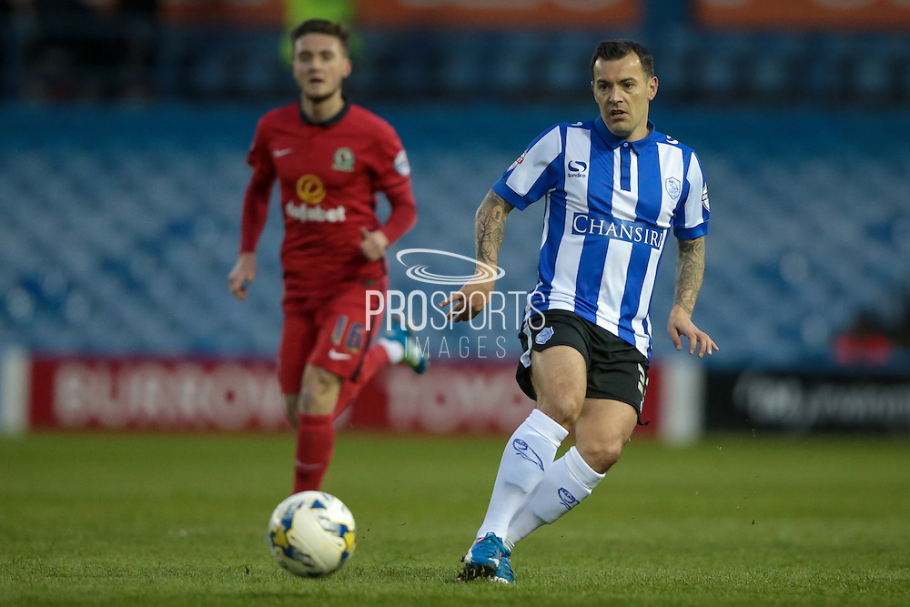 Ross Wallace (Sheffield Wednesday) during the Sky Bet Championship match between Sheffield Wednesday and Blackburn Rovers at Hillsborough, Sheffield, England on 5 April 2016. Photo by Mark P Doherty.