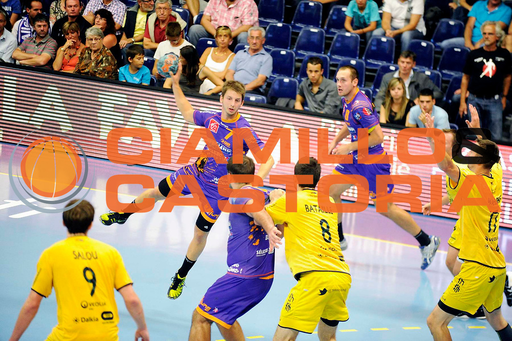 DESCRIZIONE : Handball Tournoi de Cesson Homme<br /> GIOCATORE : BERETTA Kevin<br /> SQUADRA : Selestat<br /> EVENTO : Tournoi de cesson<br /> GARA : Tremblay Selestat<br /> DATA : 07 09 2012<br /> CATEGORIA : Handball Homme<br /> SPORT : Handball<br /> AUTORE : JF Molliere <br /> Galleria : France Hand 2012-2013 Action<br /> Fotonotizia : Tournoi de Cesson Homme<br /> Predefinita :