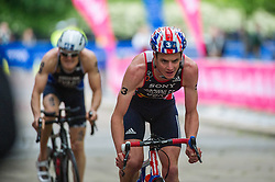 Jonathan Brownlee (GBR). Vitality World Triathlon London, Hyde Park, London, UK on 31 May 2015. Photo: Simon Parker