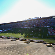 A general view of the field during the game at Harvard Stadium on May 17, 2014 in Boston, Massachuttes. (Photo by Elan Kawesch)
