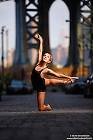Dance As Art Streets of Dumbo Series with dancer Claudia Maciejuk