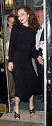 06.OCTOBER.2009 - LONDON<br /> <br /> ANNA FRIEL LEAVING THE ROYAL HAYMARKET THEATRE AFTER PERFORMING IN BREAKFAST AT TIFFANY'S.<br /> <br /> BYLINE: EDBIMAGEARCHIVE.COM<br /> <br /> *THIS IMAGE IS STRICTLY FOR UK NEWSPAPERS &amp; MAGAZINES ONLY*<br /> *FOR WORLDWIDE SALES &amp; WEB USE PLEASE CONTACT EDBIMAGEARCHIVE-0208 954 5968*