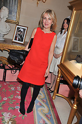 SAHAR HASHEMI at Tatler's Jubilee Party in association with Thomas Pink held at The Ritz, Piccadilly, London on 2nd May 2012.