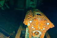 Engine block, USS Kittiwake