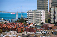 Embarcadero & Bay Bridge from Telegraph Hill