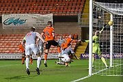 12th January 2019, Tannadice Park, Dundee, Scotland; Scottish Championship football, Dundee United versus Dunfermline Athletic; Nicky Clark of Dundee United scores for 1-0 in the 80th minute