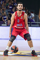 CSKA Moscu Leo Westermann during Turkish Airlines Euroleague match between Real Madrid and CSKA Moscu at Wizink Center in Madrid, Spain. October 19, 2017. (ALTERPHOTOS/Borja B.Hojas)
