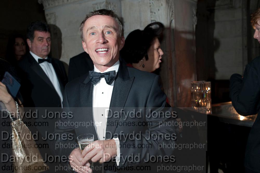 JASPER CONRAN, British Fashion awards 2009. Supported by Swarovski. Celebrating 25 Years of British Fashion. Royal Courts of Justice. London. 9 December 2009