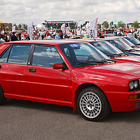 Lancia Delta HF Integrale at Silverstone Classic 21/22 July 2012