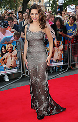 Kelly Brook  arriving for the premiere of Keith Lemon The Film in London, Monday, 20th August 2012. Photo by: Stephen Lock / i-Images
