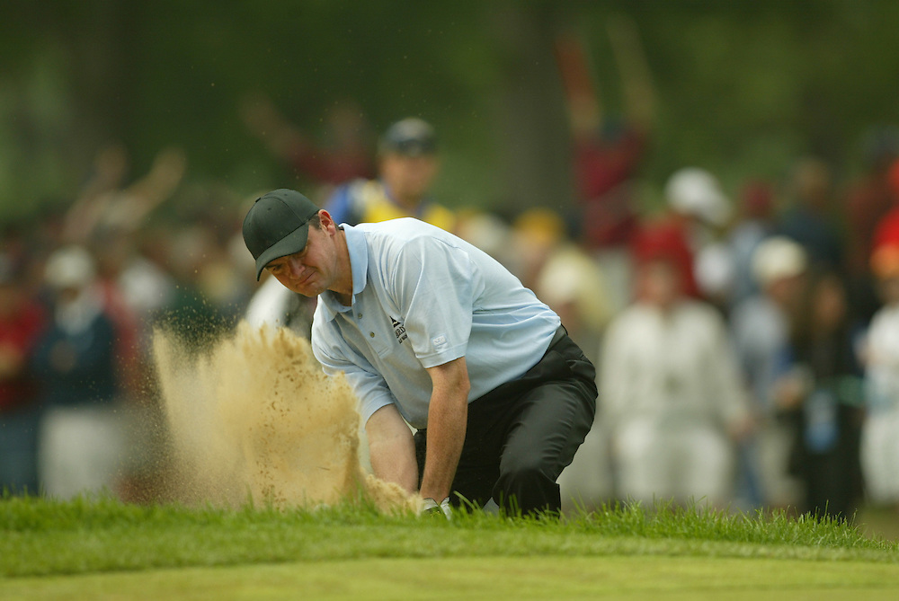 Paul Lawrie..2003 U.S. Open..Second Round..Olympia Fields CC..Chicago, IL..Friday June 13 2003..photograph by Darren Carroll