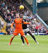 July 30th 2017, Dundee, Scotland; Betfred Cup football, group stages, Dundee versus Dundee United; Dundee United's Paul McMullan and Dundee&rsquo;s Glen Kamara<br /> <br />  - Picture by David Young - www.davidyounghoto@gmail.com - email: davidyoungphoto@gmail.com