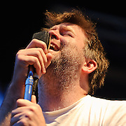 James Murphy and LCD Soundsystem perform their headlining set on Day Two of the 2010 Pitchfork Music festival.