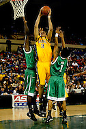 11/23/2006 - Anchorage, Alaska: Freshman forward Ryan Anderson (34) of the California Golden Bears fights through the Thundering Herd defense as California defeats Marshall 72-70 at the 2006 Great Alaska Shootout on Thanksgiving night<br />
